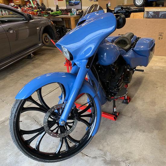 bike vinyl wrap shop