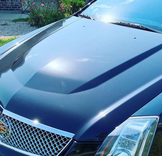 carbon fiber wrap by Crazy Joe's Wraps - South Beloit, IL