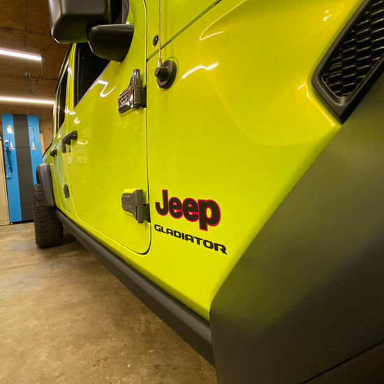 Jeep Gladiator Vinyl Wrap by Crazy Joe's Wraps - Illinois