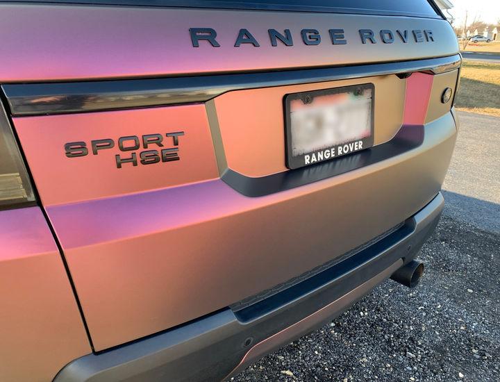 Range Rover Chameleon Truck Vinyl Wrap