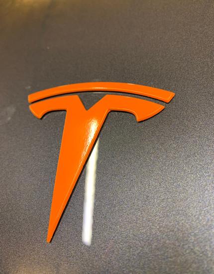 Tesla Chrome Delete Vinyl Shop