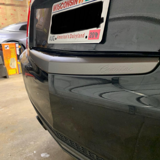 Cadillac Chrome Delete