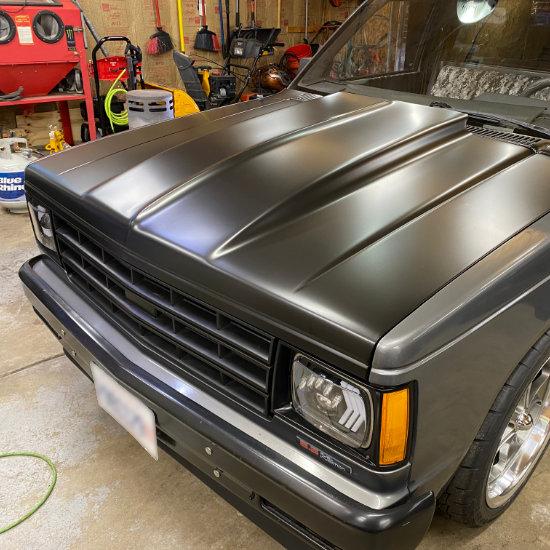 Chevy S10 Vinyl Wrap