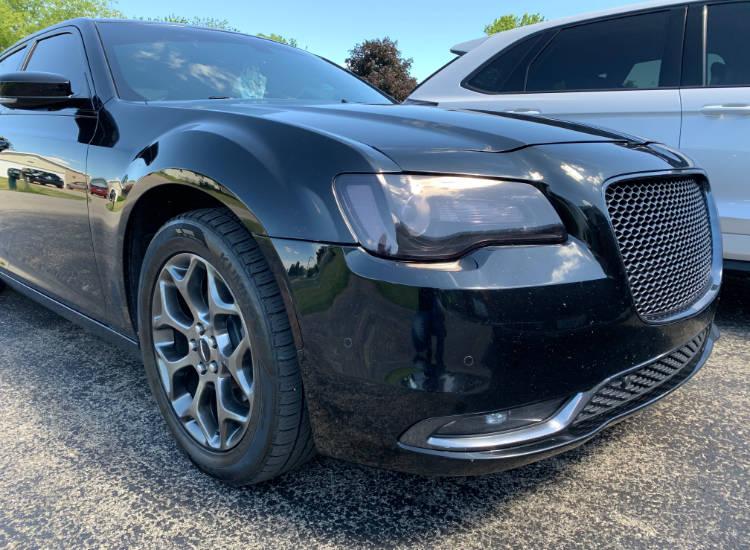 Chrysler Headlight Tint
