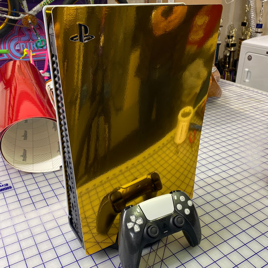 PlayStation Console Wraps