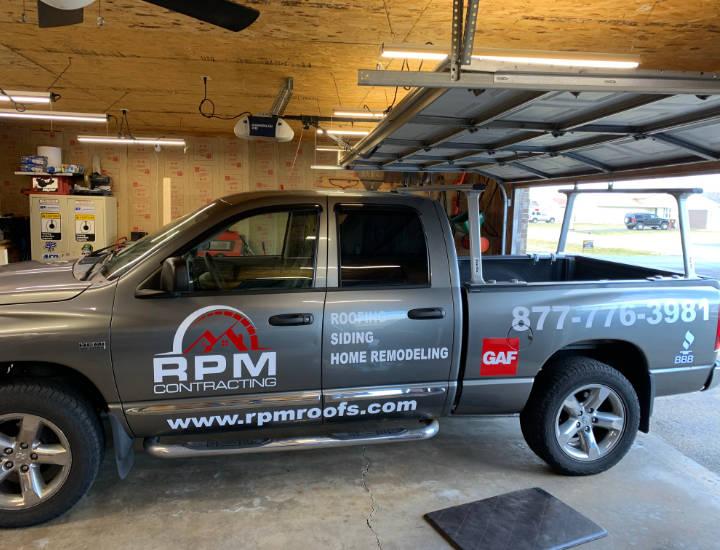 RPM Contracting Truck Vinyl Wrap