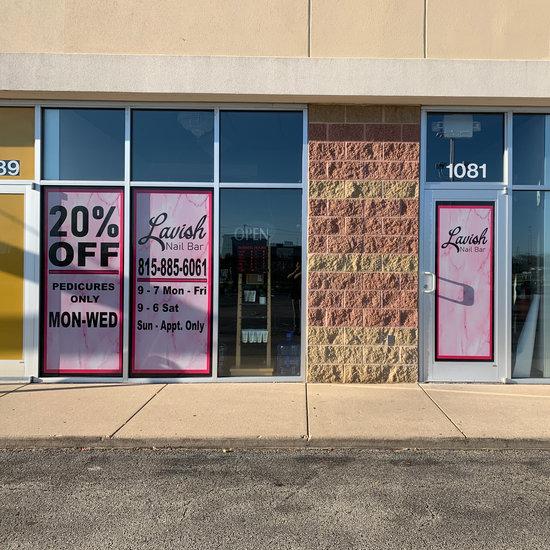Storefront Window Wraps