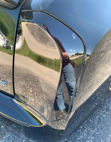 Taillight tinting on car