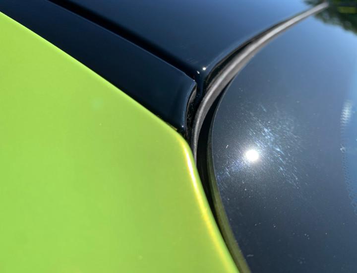 Green Black BMW Vinyl Wrap